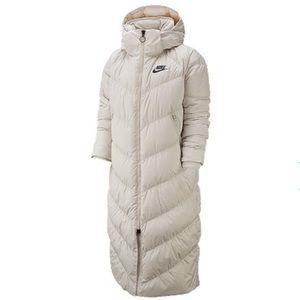Nike Long Down Puffer Jacket
